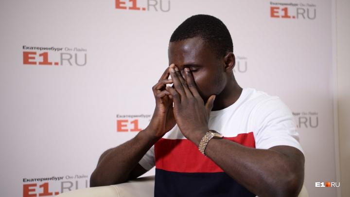 «Чтобы жить в России, нужно быстро бегать». Африканский студент УрГЭУ — о расизме в Екатеринбурге