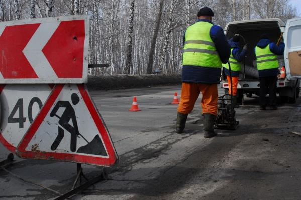 Завод будут использовать при реконструкции автодороги К-17p под Новосибирском