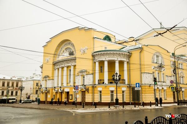 Дом актёра будет находиться в самом центре города, рядом с правительством Ярославской области