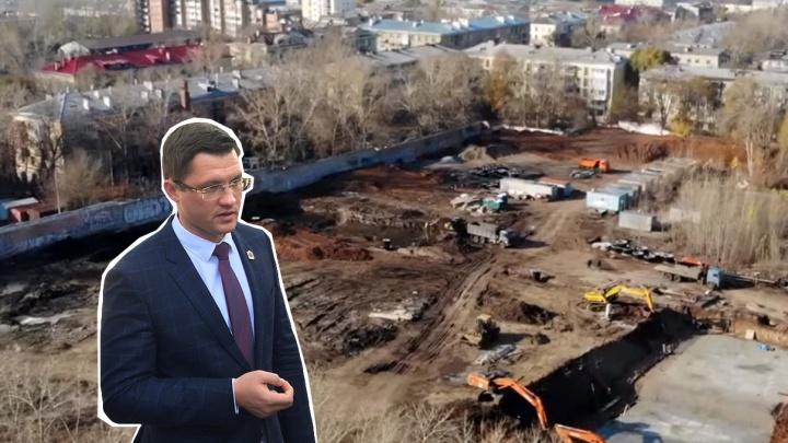 Компания отца самарского министра начала строить высотки на месте бывшей военной части на Панова
