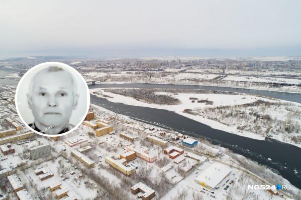 Мужчина ушел на прогулку на остров Татышев