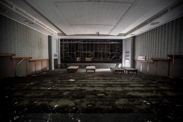 Так зрительный зал «Космоса» выглядел в августе 2017 года