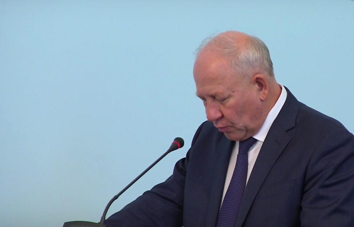 Олег Климов отчитался в новой должности — вице-губернатора-министра
