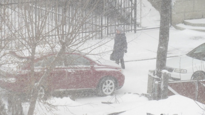 В Курганской области в эти выходные ожидаются снегопады