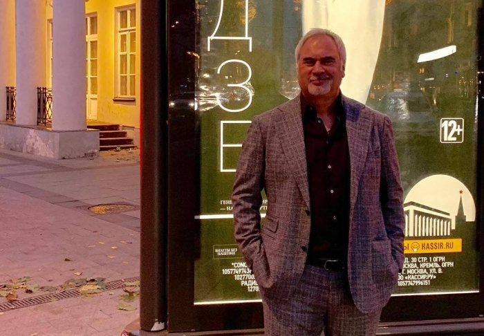 Через неделю Валерий Меладзе приедет в Екатеринбург