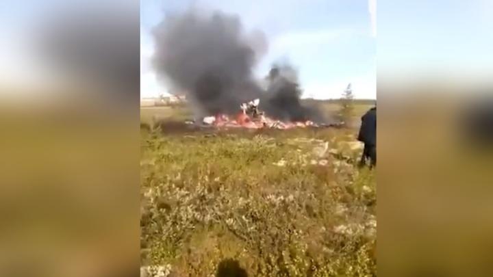 Родственникам погибших в крушении вертолёта пообещали по 2 миллиона рублей