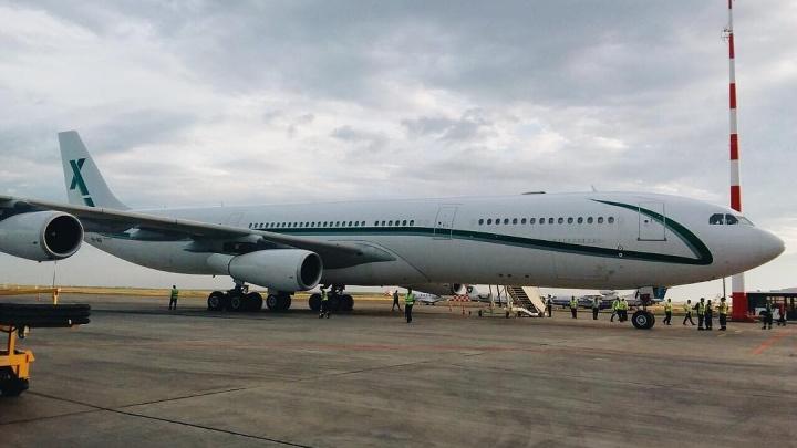 В Волгоград за сборной Саудовской Аравии прилетел суперсовременный аэробус