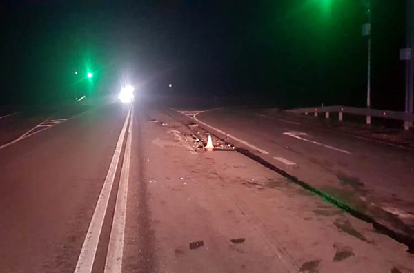 Авария случилась прямо на светофоре