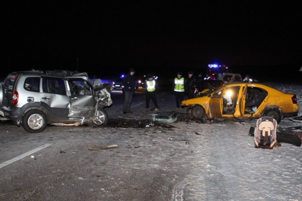 Чудовищная авария унесла жизни четырех человек. Среди них двое детей