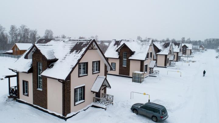 Новогодняя сказка: кирпичные коттеджи продают по цене квартиры