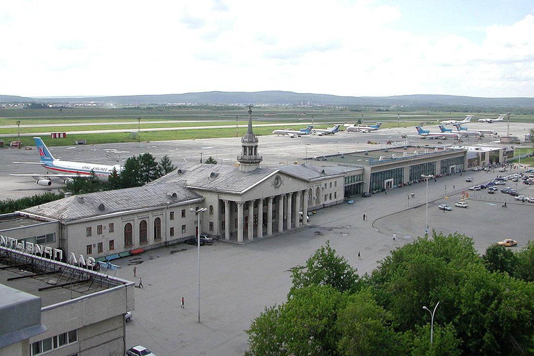 А это аэропорт в 90-е годы