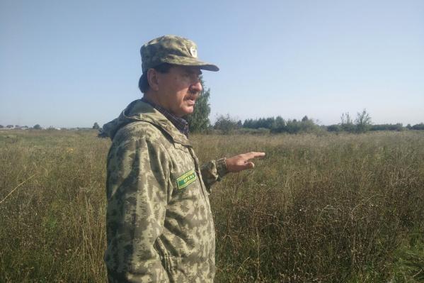 Сергей Петрович знает каждую травинку в своих «владениях»