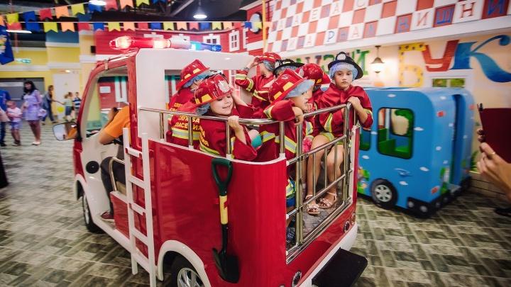 Родители смогут приобрести детские билеты в «КидБург» за полцены