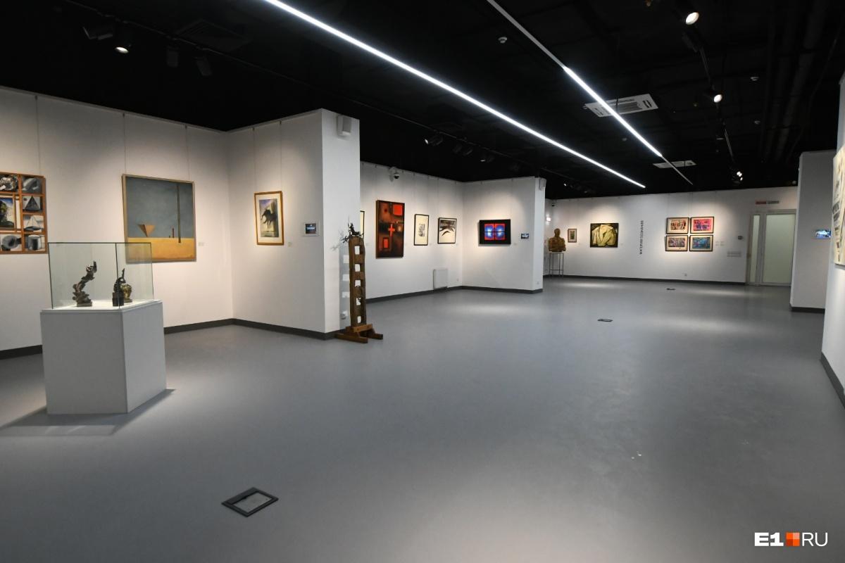 Зал постоянной экспозиции