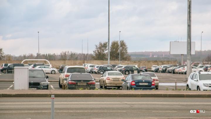 В аэропорту Курумоч открылась новая парковка