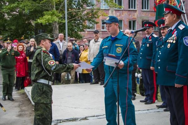 МЧС России рассматривает вопрос о награждении Степана медалью «За спасение погибавших на водах»