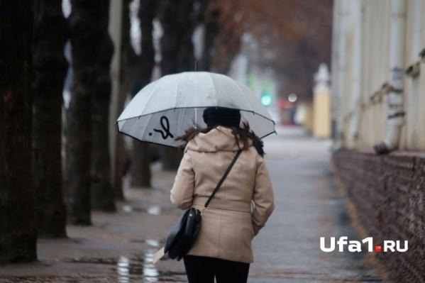 Жителям республики советуют готовить зонтики
