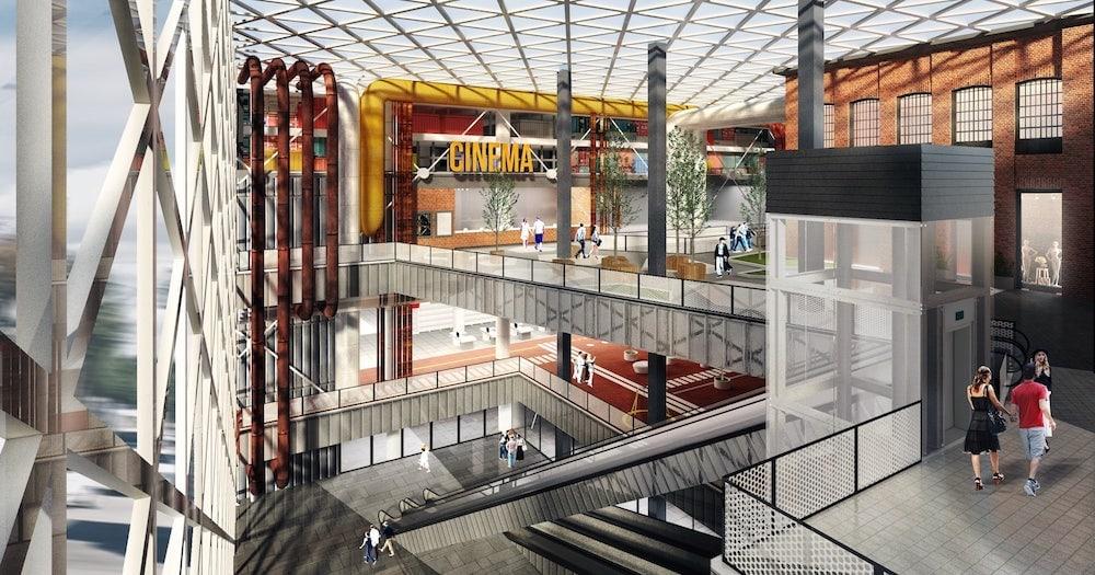 На окраине Эльмаша откроют парк развлечений и кинотеатр