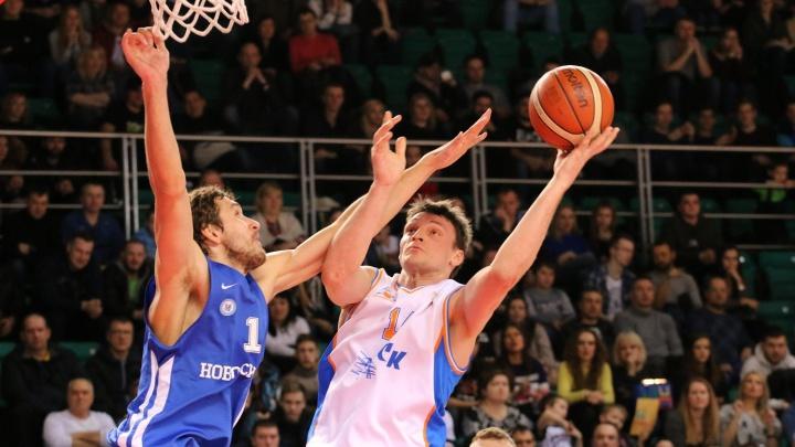 Баскетбол: БК «Новосибирск» уступил «Самаре»