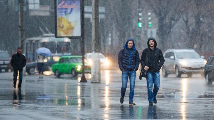 «Мокрый снег с дождём и +3 ºС»: в Волгоградской области дороги покрылись ледяной коркой