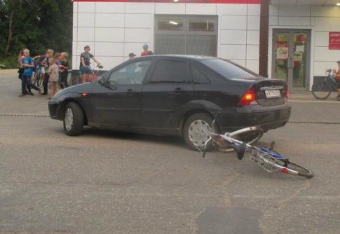 «Она говорит, что торопилась»: в Ярославской области женщина на иномарке сбила велосипедиста