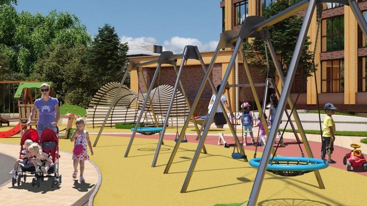 В Новосибирске строят жилой комплекс, дизайн которого вдохновлен звёздными отелями