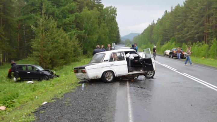 В Башкирии водитель без прав попал в жуткое ДТП