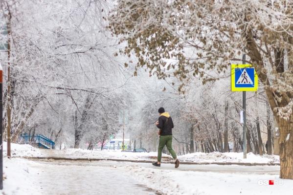 Горожане смогут насладиться чарующей красотой зимней природы