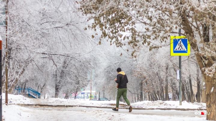 В объятьях скандинавского циклона: в конце рабочей недели в Самарской области потеплеет до -4 °C