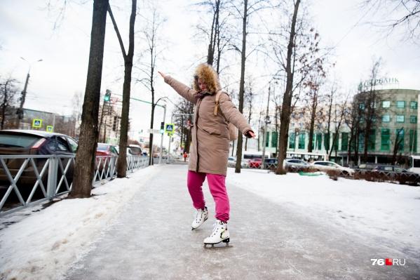 На городских улицах можно проводить соревнования по фигурному катанию