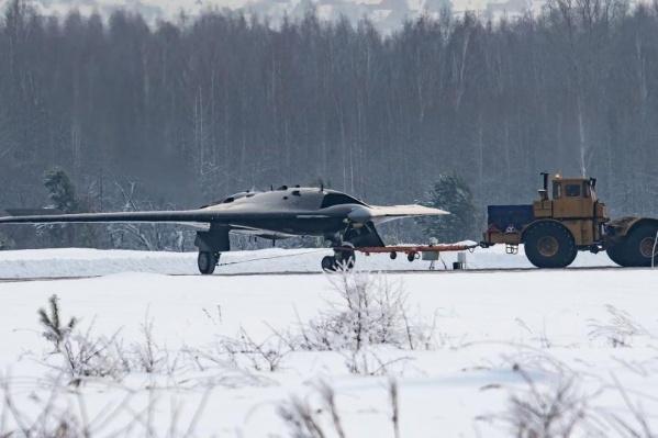 Беспилотник собирают в филиале компании «Сухой» на Новосибирском авиационном заводе имени Чкалова