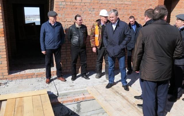 К 2018 году в селе Мальцево построят 20 домов, детский сад и физкультурный центр