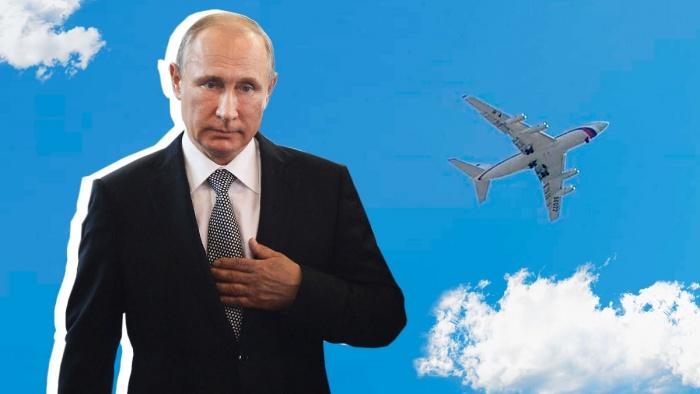 Владимир Путин прилетел в Екатеринбург
