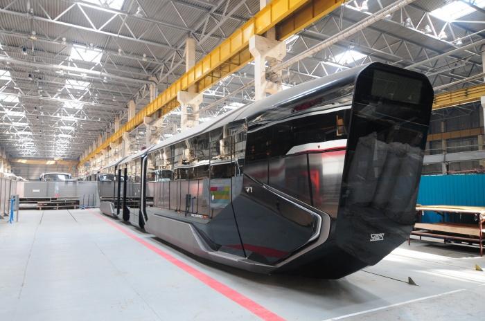 Концепт трамвая R1 впервые представили в 2014 году