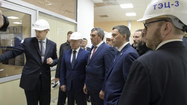План СГК по улучшению экологической обстановки Красноярска представили федеральному министру