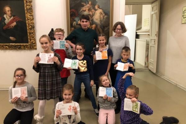 Авторами и художниками книги стали ребята в возрасте от шести до десяти лет
