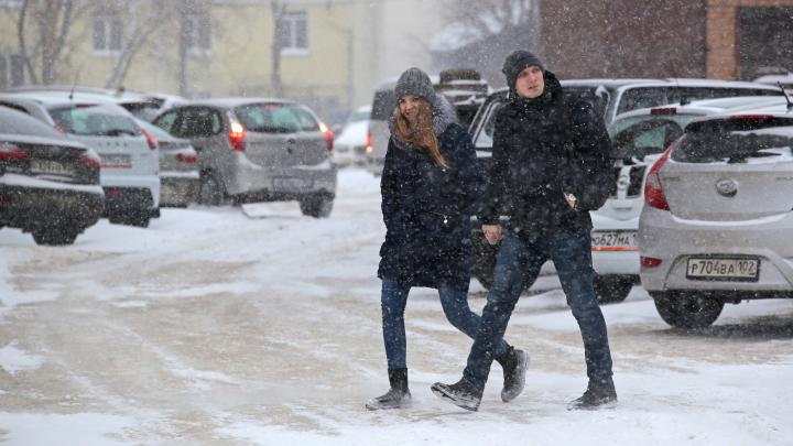 Башкирию накроет ледяной дождь