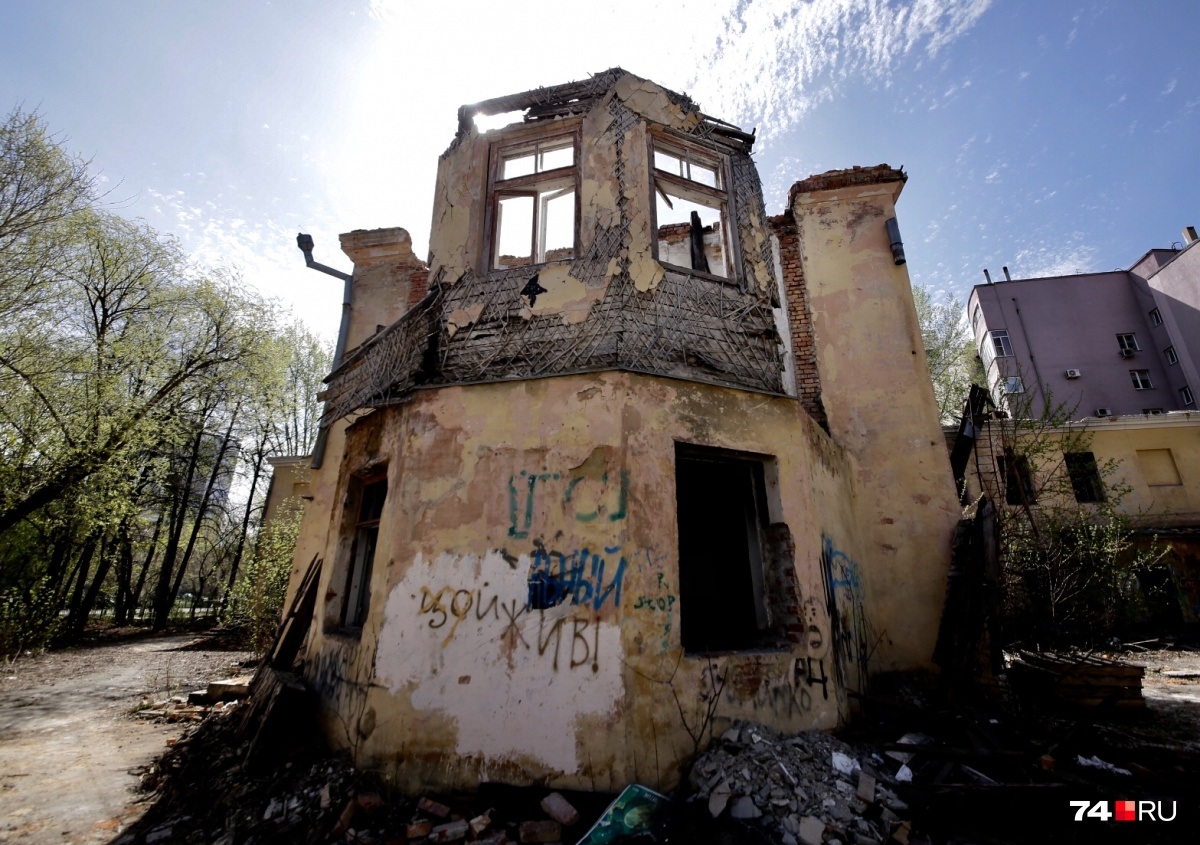 Здание старой больницы на Клары Цеткин, 58 пустует больше 10 лет