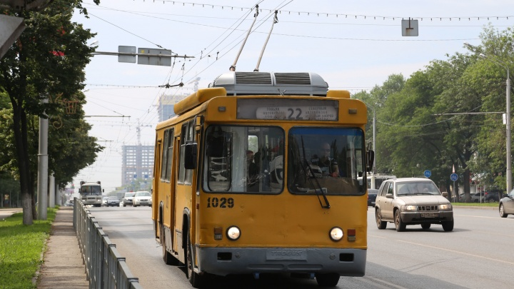 В Уфе перекроют движение троллейбусов по улице Рабкоров