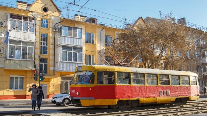 В Волгограде возобновлено движение трамваев после аварии на электросетях