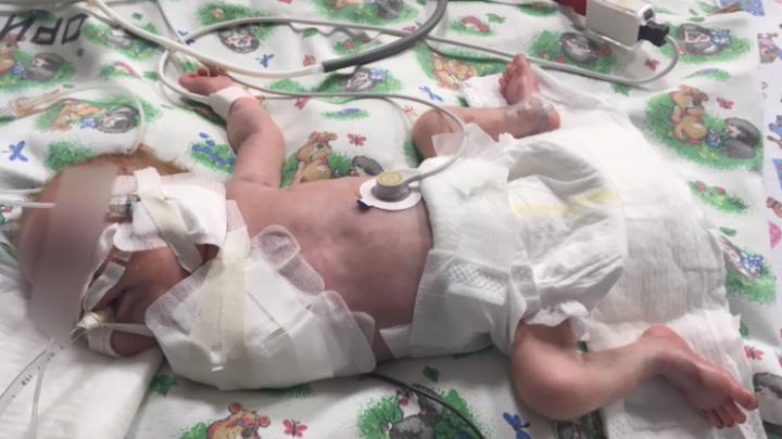 Новорожденного, которому ампутировали руку в перинатальном центре Уфы, готовят к выписке