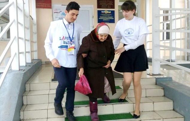Дорога на выборы: маломобильным группам населения принять участие помогут волонтеры