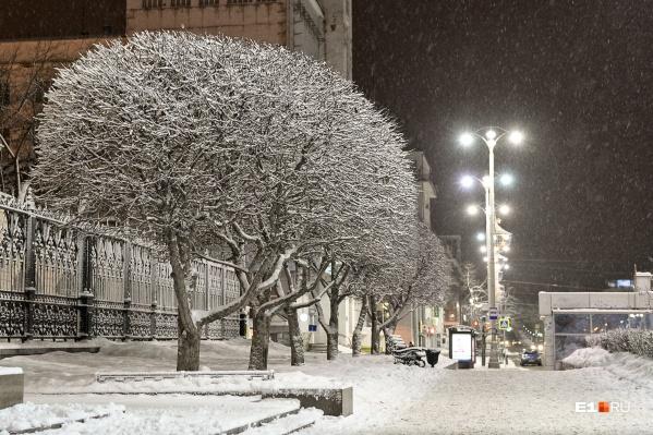 Сильных снегопадов и метелей на этой неделе не ожидается