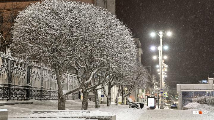 В Екатеринбурге потеплеет на несколько дней, но к выходным морозы снова вернутся