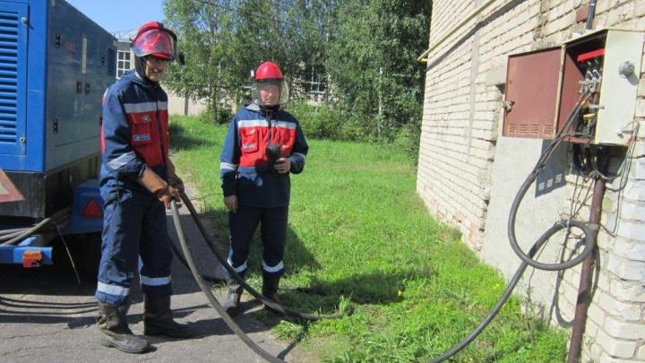 В Ярославле прошли учения по отработке ликвидации массовых отключений