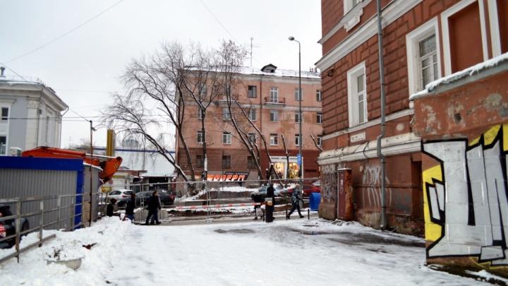 В центре Перми без воды остались 700 человек