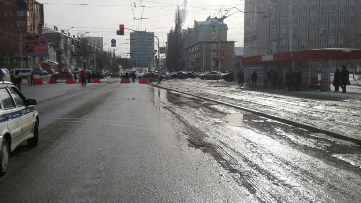 В Уфе из-за коммунальной аварии перекрыли центр города