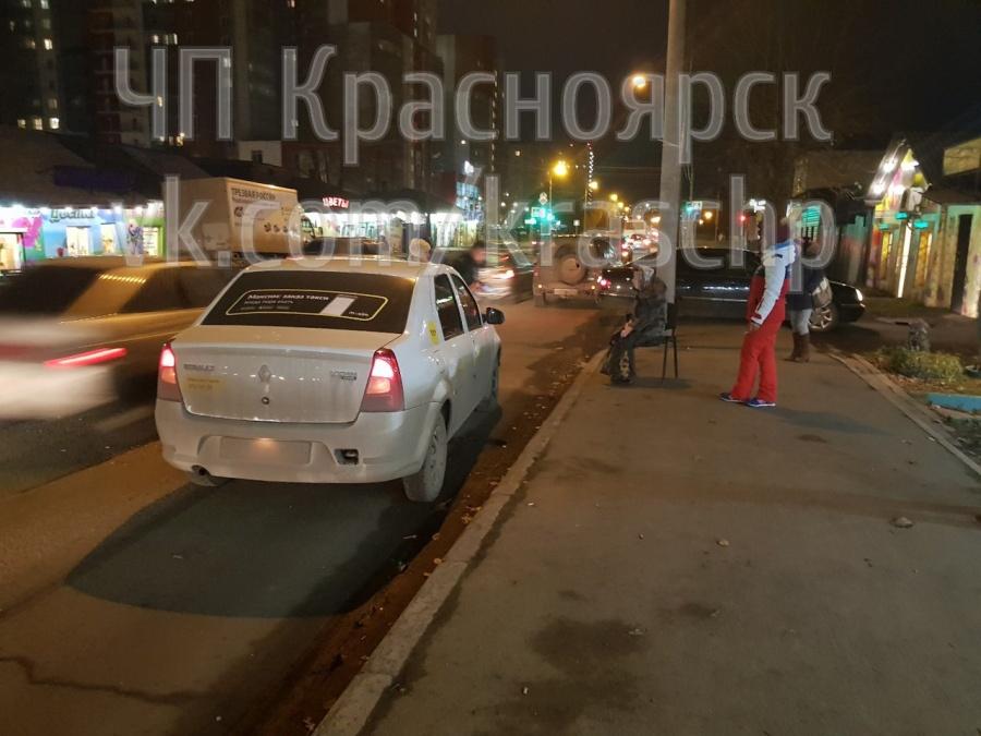 ВКрасноярске таксист сбил женщину впопытках объехать «пробку»