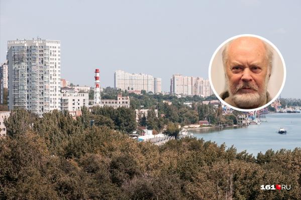 Лев Аннинский родился в Ростове в казачьей семье