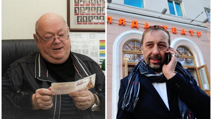 «У нас с ним были невероятные отношения»: Коляда — о директоре Музкомедии, скончавшемся в Москве